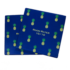 Room Rater Pineapple Coasters