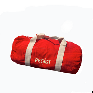 Resist Red Duffel