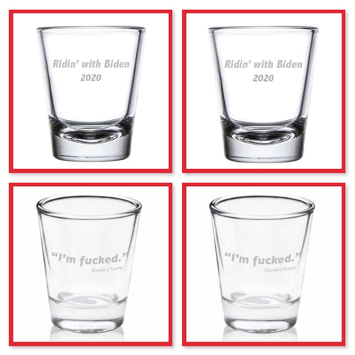 Presidential Shot Glass - Mixed Set