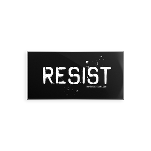 Resist Lapel Pin