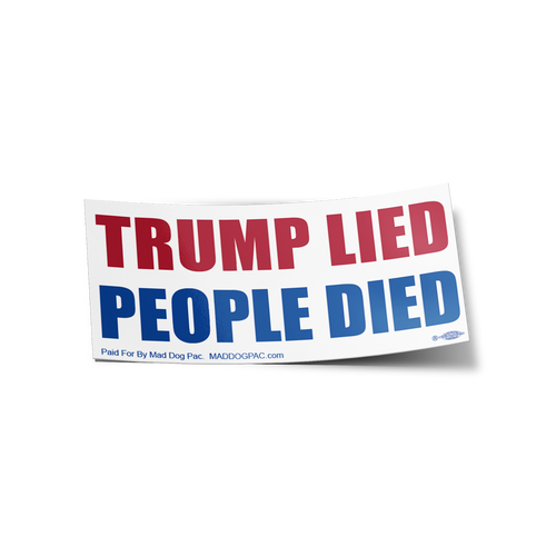 Trump Lied Sticker 20-Pack
