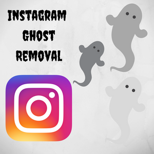 Instagram Ghost Removal Of Followers and Followings (Account Cleansing)