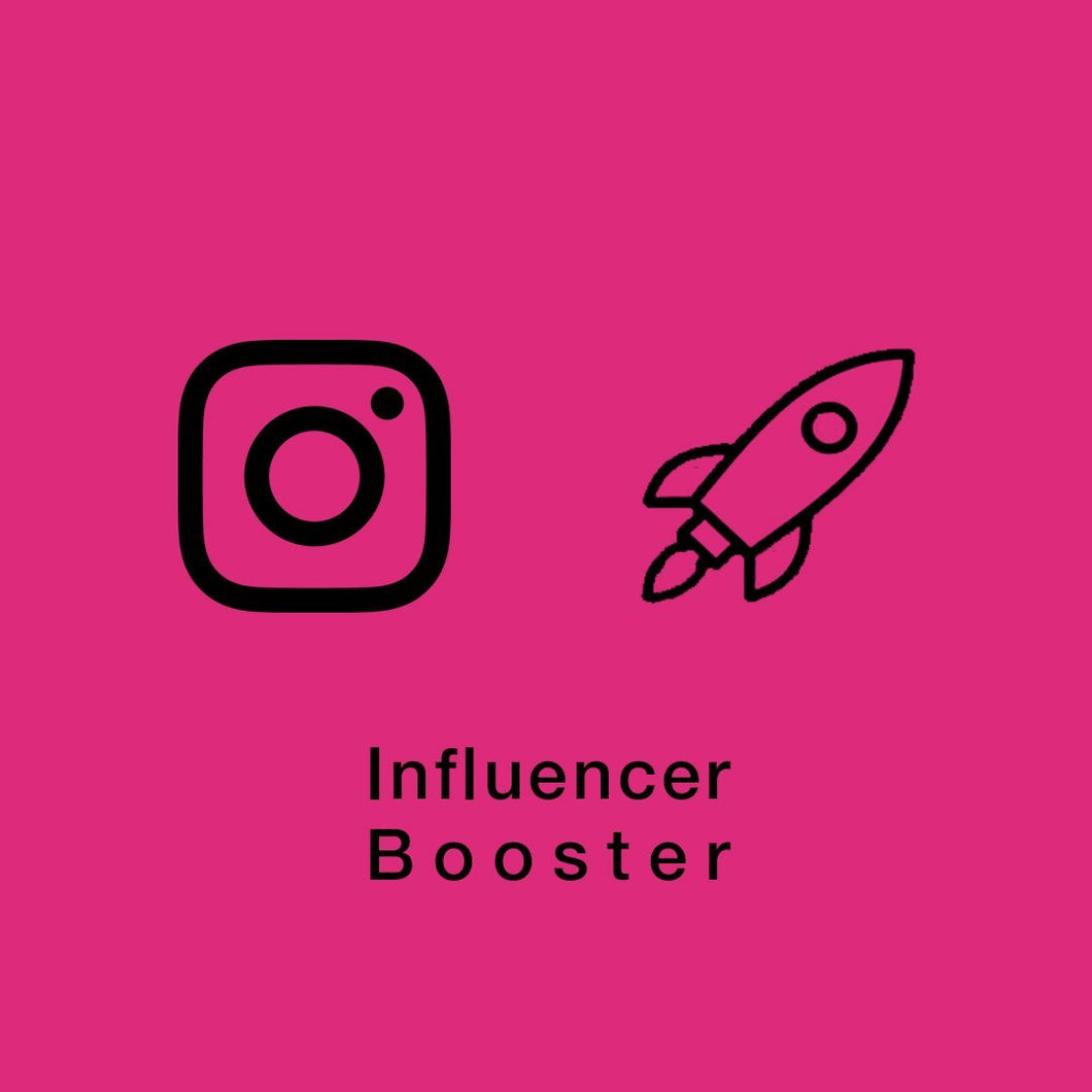 Instagram Influencer Booster (1 Post Per Day / 30 Per Month) | Get Paid More, Get Seen More! - SOCIAL GROWTH ENGINE