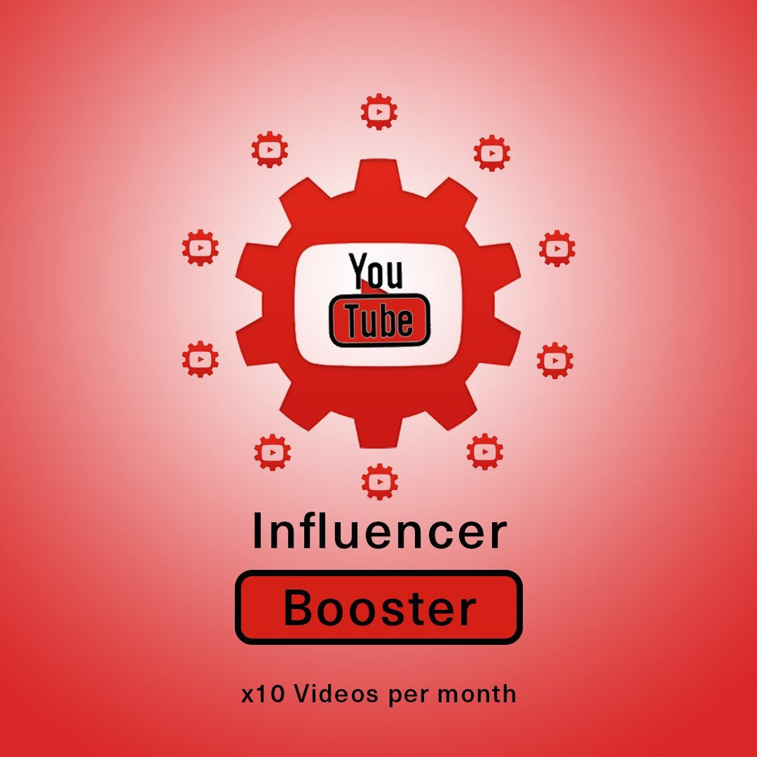 YouTube Influencer Booster x 10 Vids a Month | Get Paid More, Get Seen More! - SOCIAL GROWTH ENGINE