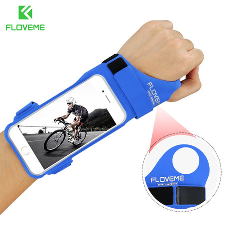 FLOVEME GYM Sport Running Armband Phone Cases For iPhone 6 Case iPhone 6s Arm band Jogging Handle Bag Cover For iPhone 6 Plus