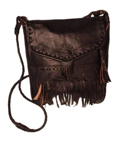 Afra - Crossbody leather bag