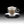 Load image into Gallery viewer, Cappuccino Cup & Saucer Set of 2, Thermic Glass, Made in Italy
