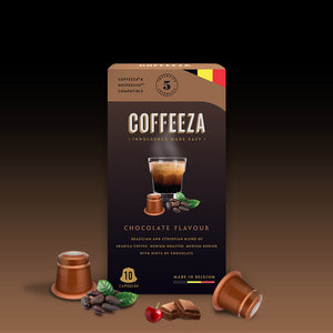 Chocolate Flavoured Coffee Capsules