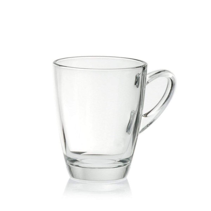 Coffeeza Mug Set of 4 (Glass) - 320 Ml nespresso compatible SMU-002