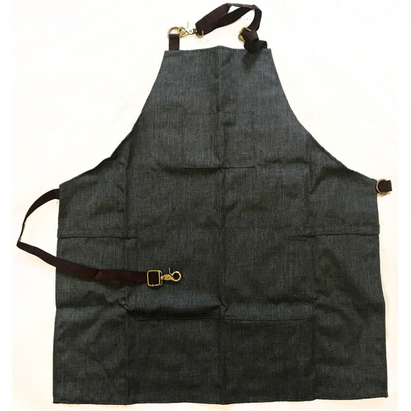 HT61706 CHARCOAL BARBERING APRON