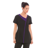 Havana Tunic Black / Purple