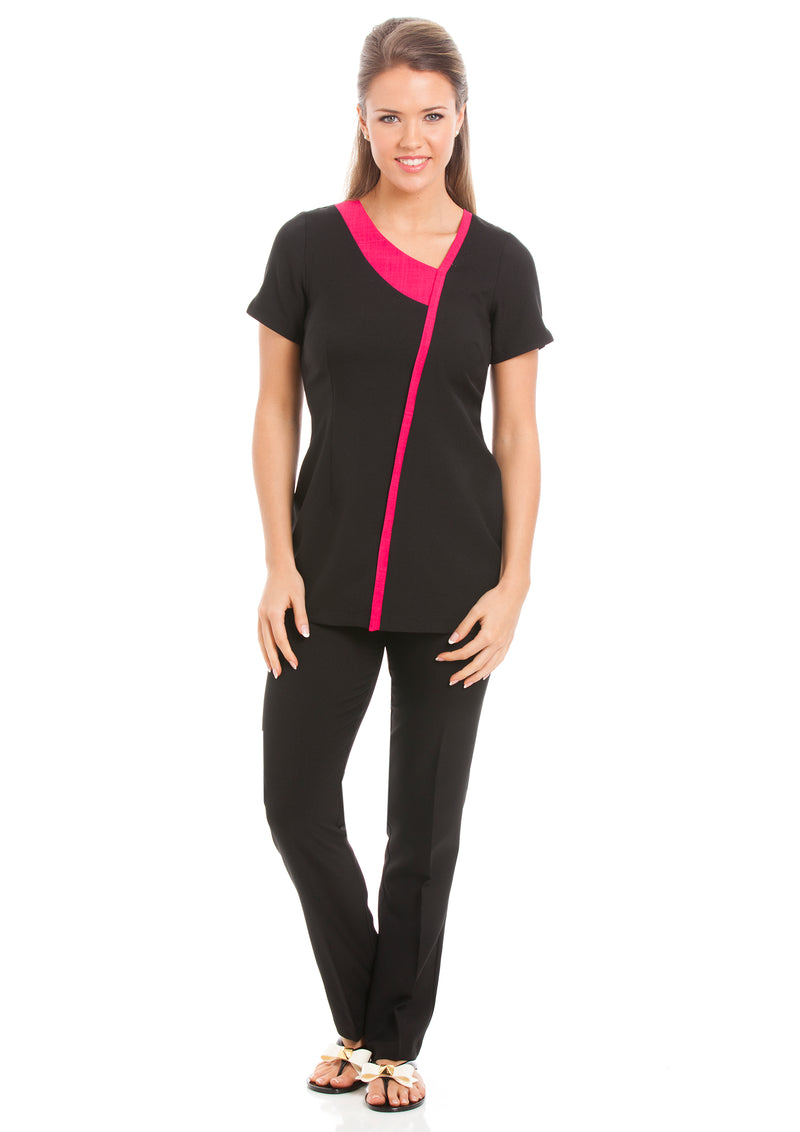 Havana Tunic Black / Rhodi Pink - Peter Symonds