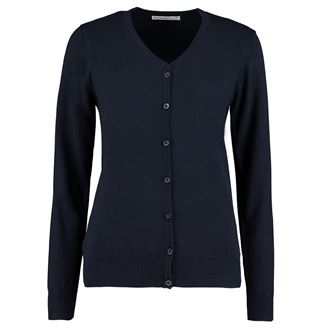 KK354 Navy V Neck Cardigan - Tresham College