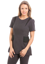 Milan Tunic Dark Grey / Black