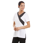 Ohio Tunic White / Dark Grey