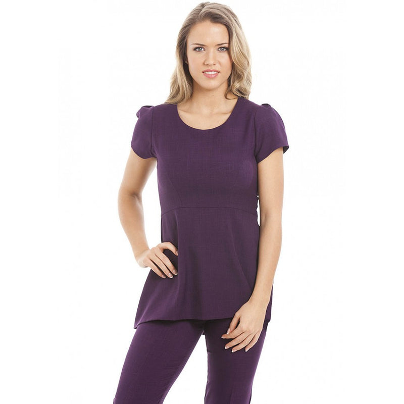Paris Tunic Aubergine