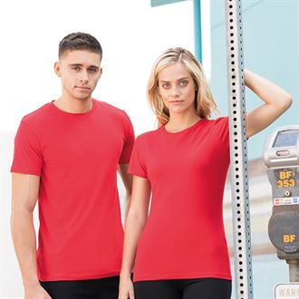 SHOOTERS HILL TRAINEE FITNESS INSTRUCTOR - SS050 LADIES T SHIRT - RED
