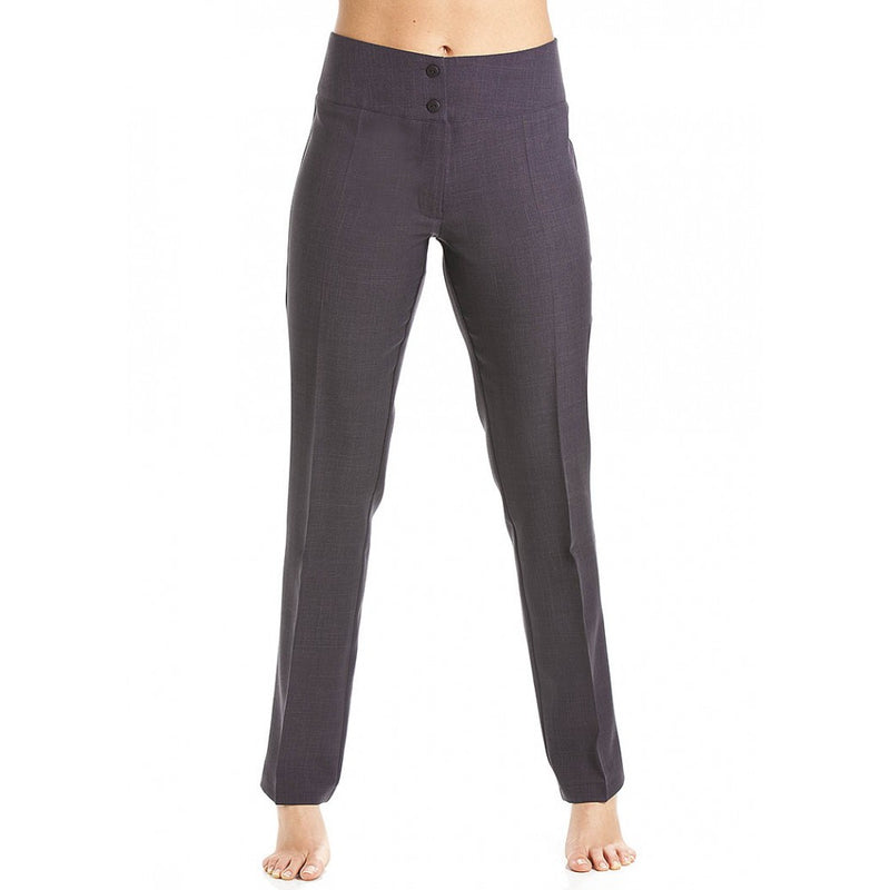 Straight Leg Trousers Dark Grey - Great Yarmouth