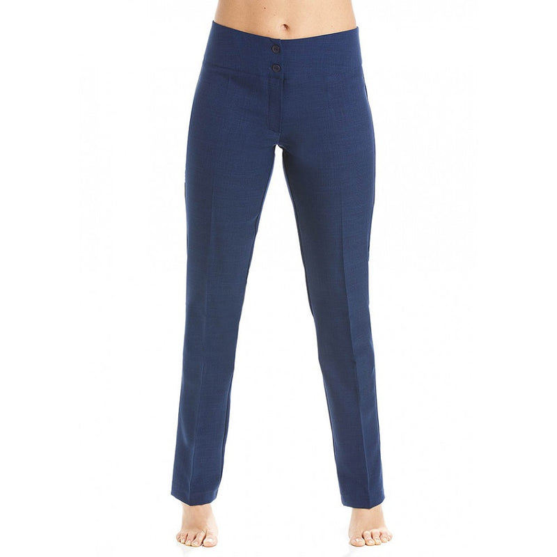 Straight Leg Trousers Navy