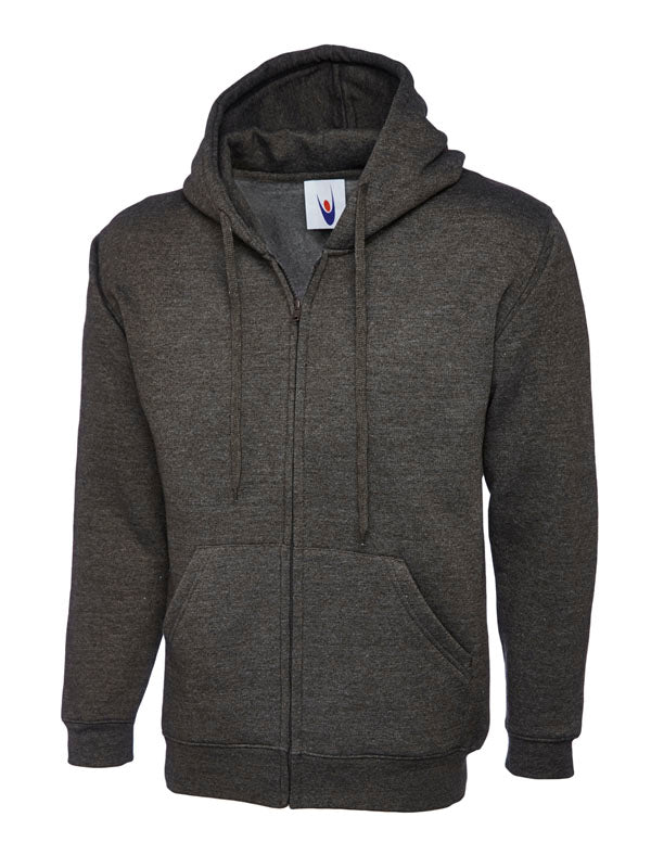 LEICESTER COLLEGE UC504 CHARCOAL UNISEX HOODIE