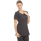 Vegas Tunic Dark Grey - Heart of Worcester