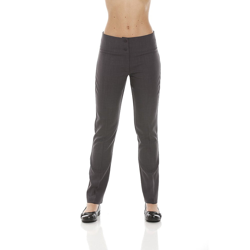 SUPER SKINNY TROUSERS DARK GREY - IBHA