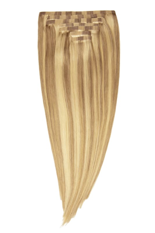 Charlize Warm Dimensional Blonde Clip-In Extensions - Signature