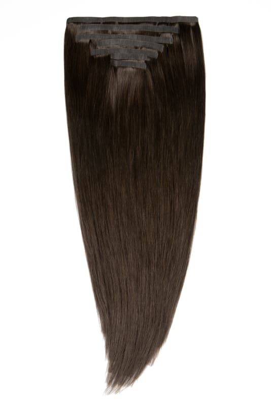 Kate Medium Brown Clip-In Extensions - Signature
