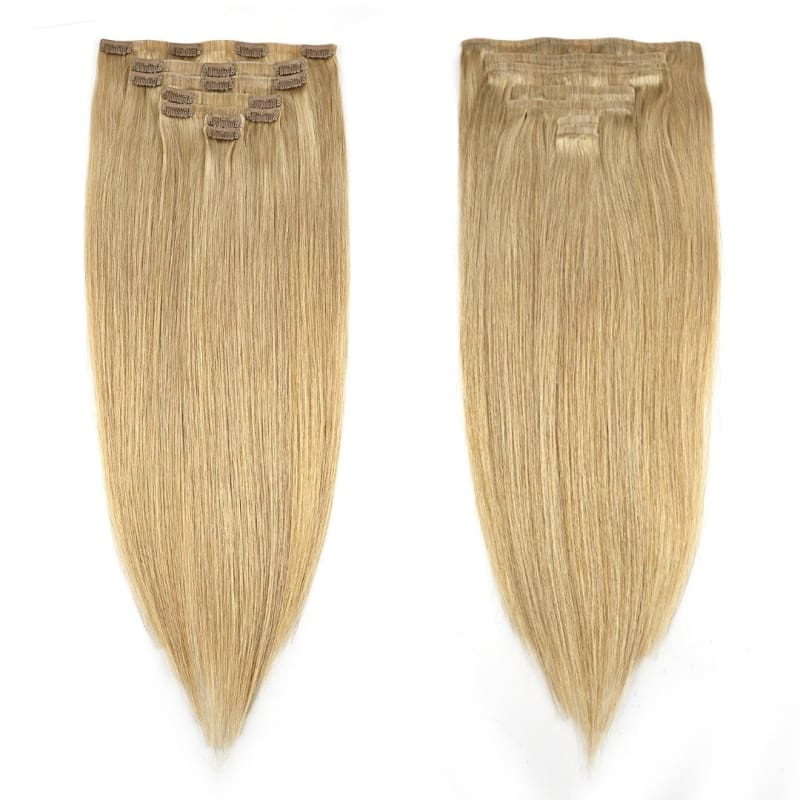 Dark Warm Blonde Clip-In Extensions - Signature