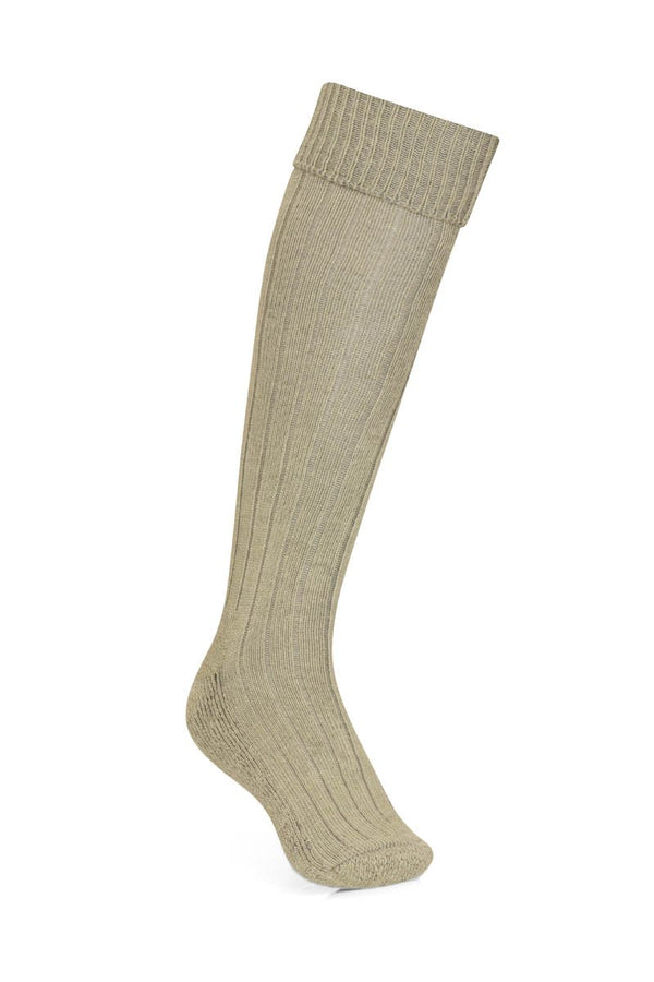Bernard Weatherill Alpaca Shooting Sock Sage Savile Row Gentlemens Outfitters