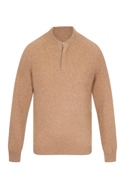 Bernard Weatherill Cashmere Button Neck Pullover Crofter Savile Row Gentlemens Outfitters