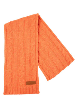 Bernard Weatherill Cashmere Cable Knit Scarf Flaming Savile Row Gentlemens Outfitters