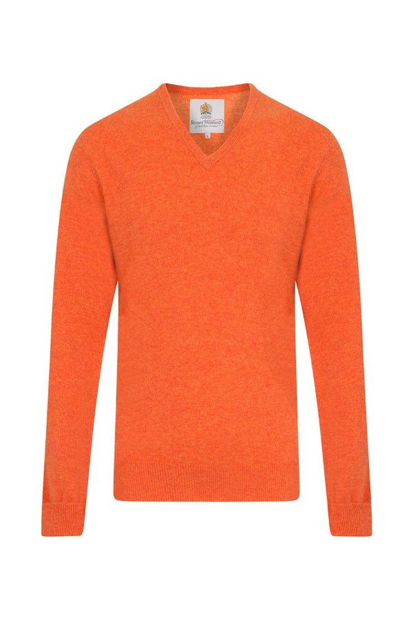 Bernard Weatherill Cashmere V-Neck Flaming Savile Row Gentlemens Outfitters