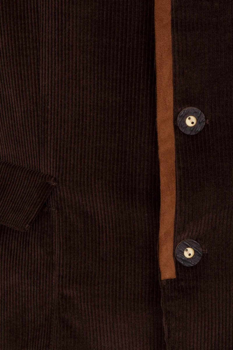 Bernard Weatherill Corduroy Austrian Jacket Dark Brown Savile Row Gentlemens Outfitters