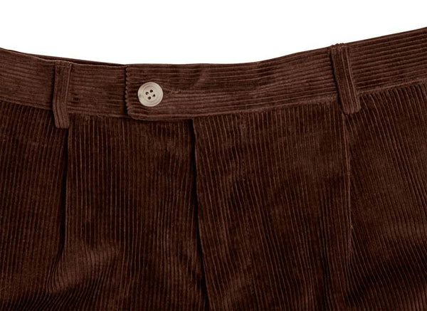 Bernard Weatherill Corduroy Breeks Dark Brown Savile Row Gentlemens Outfitters