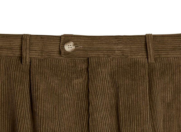 Bernard Weatherill Corduroy Breeks Dark Green Savile Row Gentlemens Outfitters