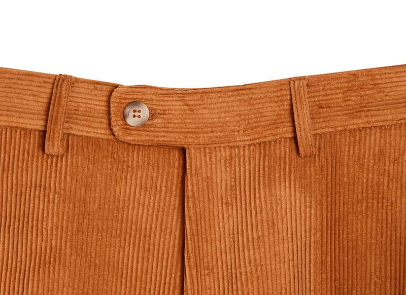 Bernard Weatherill Corduroy Trousers Tan Savile Row Gentlemens Outfitters