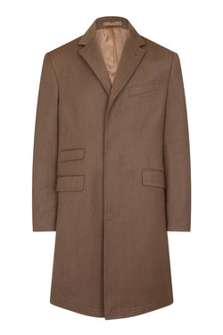 Bernard Weatherill Covert Coat Fawn Savile Row Gentlemens Outfitters