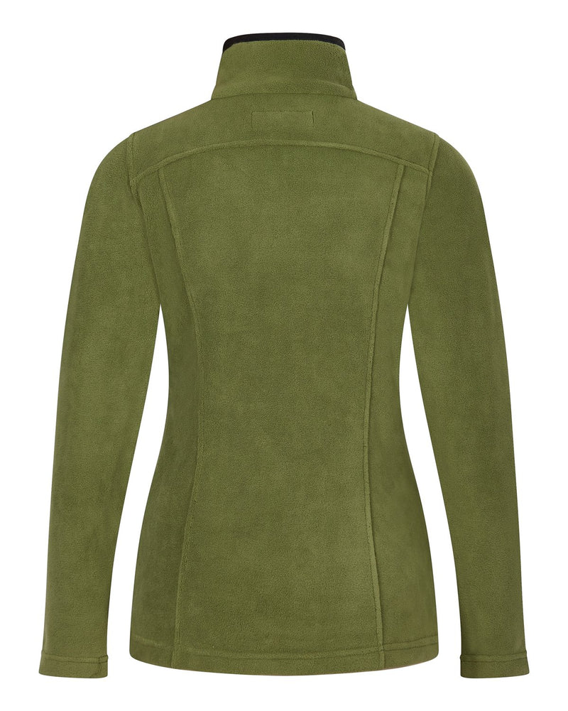 Bernard Weatherill Ladies 1/4 Zip Summer Fleece Loden Savile Row Gentlemens Outfitters