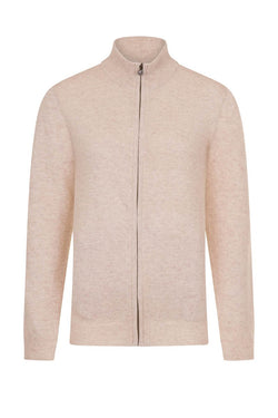 Bernard Weatherill Ladies Cashmere Full Zip Cardigan Chalet Savile Row Gentlemens Outfitters