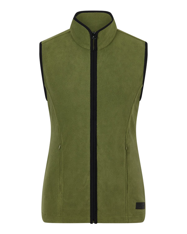 Bernard Weatherill Ladies Gilet Summer Fleece Loden Savile Row Gentlemens Outfitters