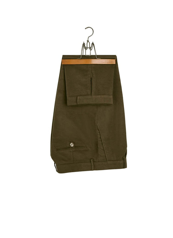 Bernard Weatherill Moleskin Breeks Dark Green Savile Row Gentlemens Outfitters