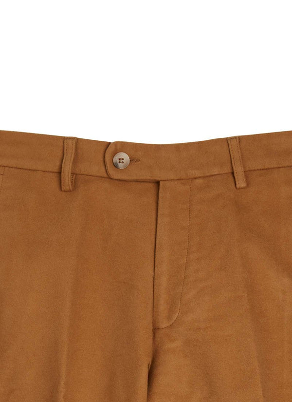 Bernard Weatherill Moleskin Trousers Tan Savile Row Gentlemens Outfitters