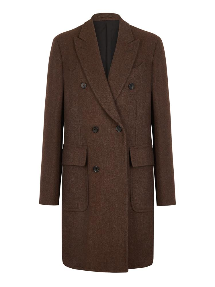 Bernard Weatherill Wool Double Breasted Overcoat Savile Row Gentlemens Outfitters