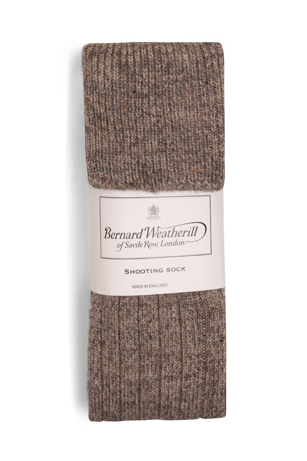 Bernard Weatherill Wool Shooting Sock Saddleworth Savile Row Gentlemens Outfitters