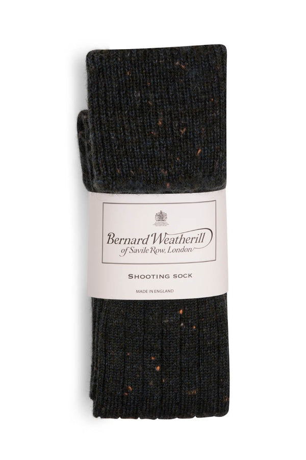 Bernard Weatherill Wool Shooting Sock Sherwood Tweed Savile Row Gentlemens Outfitters