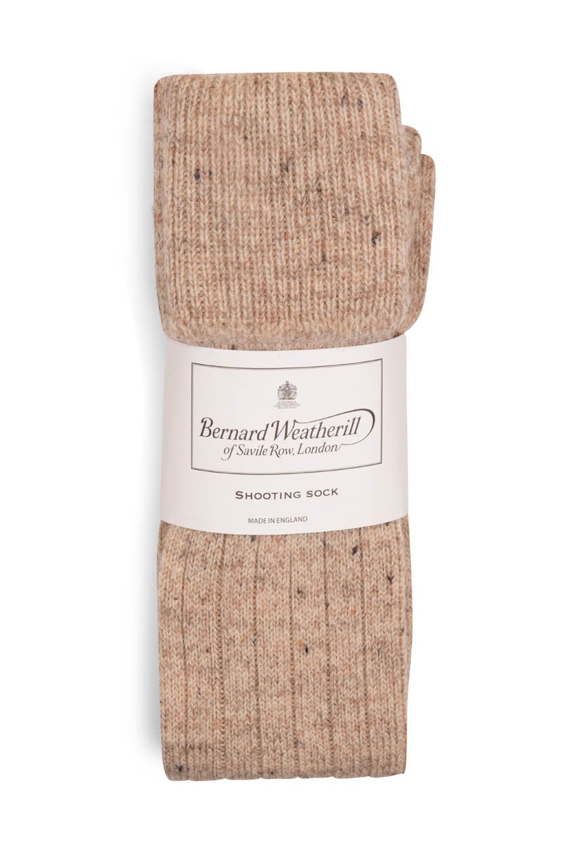 Bernard Weatherill Wool Shooting Sock Skiddaw Nepp Savile Row Gentlemens Outfitters