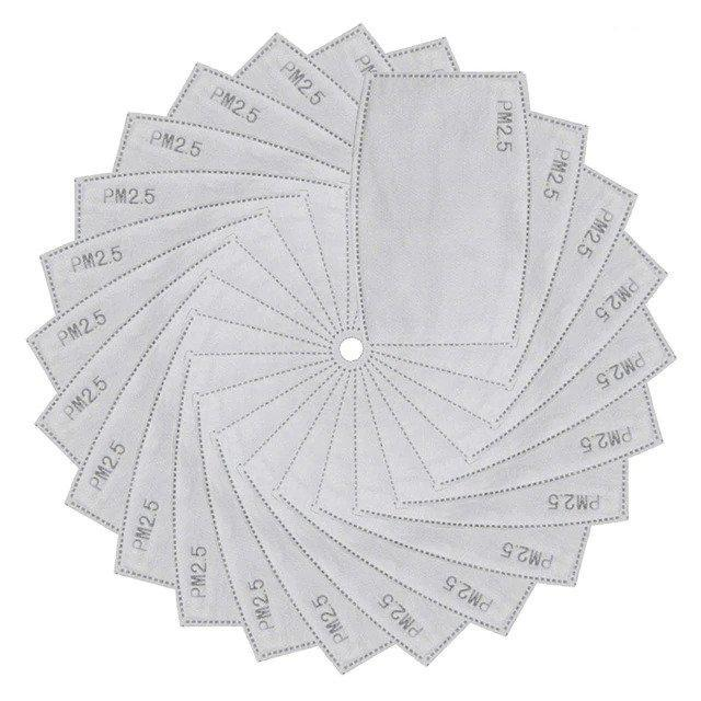Filters for Reusable Filter Mask