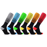 Compression Stripes Unisex Socks - 3 & 6 Pairs