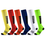 Anti Fatigue Unisex Compression Socks - 6 Packs